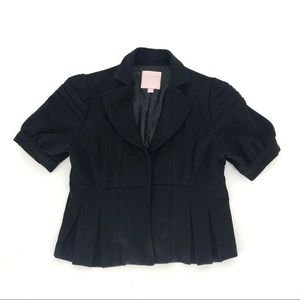 Romeo and Juliet Couture Black Jacket Bolero S
